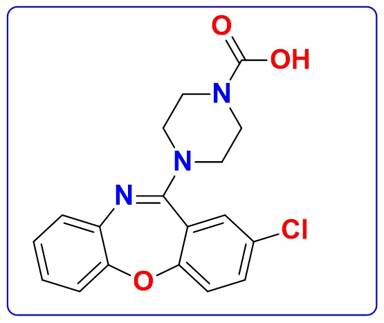 Amoxapine N-Methoxycarbonyl Impurity | Amoxapine Methylformate